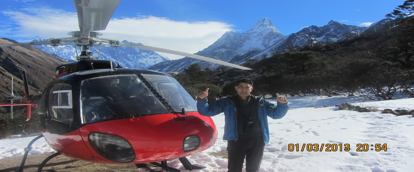 Heli Tour In Everest,Nepal