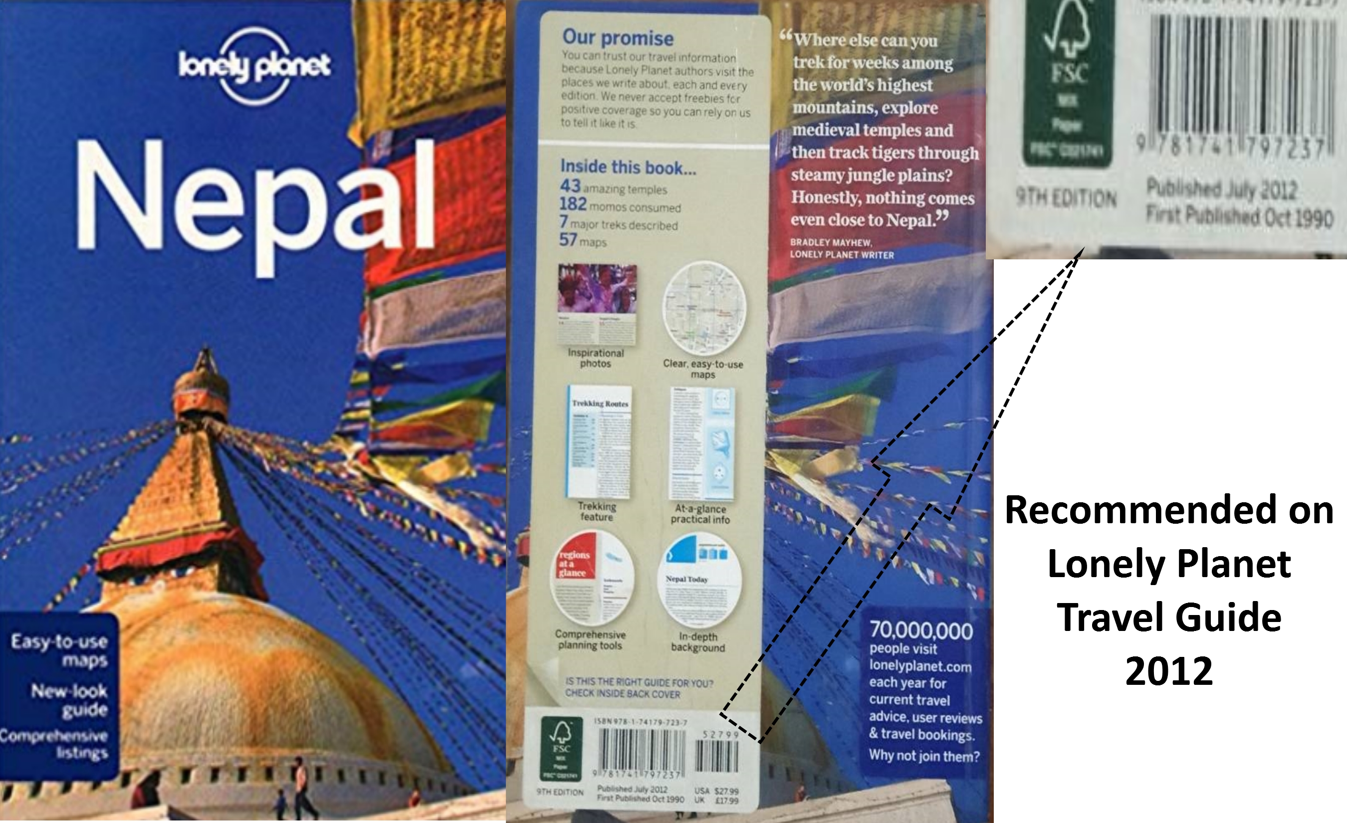 lonely planet trekking in the nepal himalaya travel guide